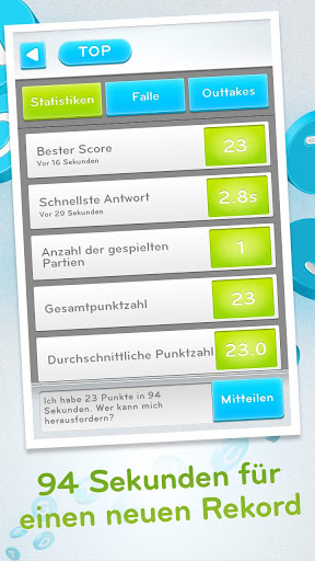 94 Sekunden Highscore
